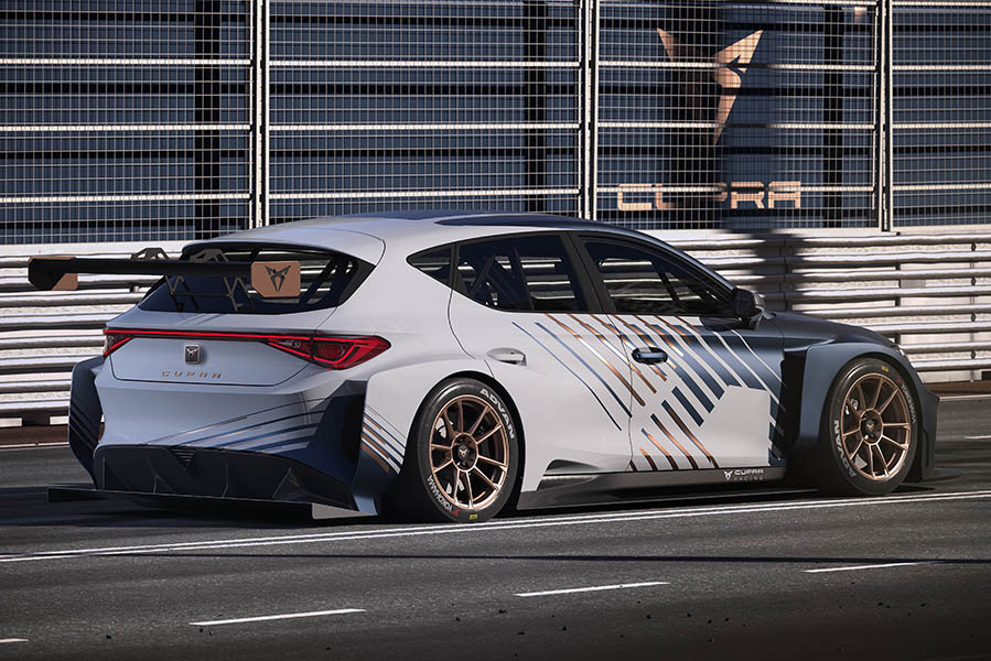 The new CUPRA e-Racer will be as fast as 270 km/h